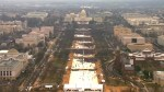 Trump Inauguration: Attendance appears lower for Trump inauguration than for Obama